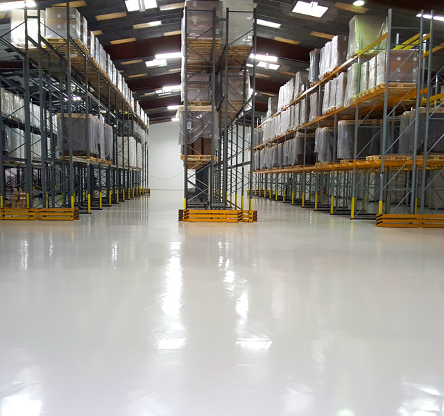 Dudadur Premium – Bodenbeschichtungen Industrie, Handel & Logistik